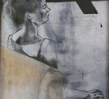 portrait of girl by bergerk