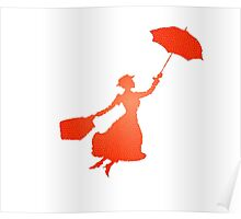 Pattern Miss Poppins  Poster
