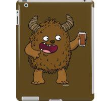 Brown Ale Beer Monster iPad Case/Skin