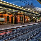 Cullercoats Metro Station by Andrew Pounder