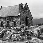 Church of the Good Shepherd, Lake Tekapo by Heike Richter