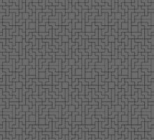 Black Tetris Patterns by c0y0te7