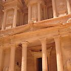 The Treasury, Petra by AlvinBurt