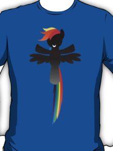 Monochrome Rainbow Dash T-Shirt