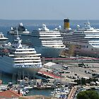 Berthing at Palma Harbour by AlvinBurt