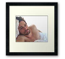 Sleepy James Framed Print