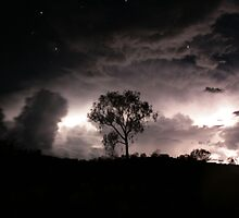 Stormy Night Skies and the Heavens Above... by Keiran Lusk