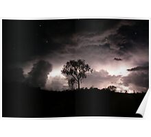 Stormy Night Skies and the Heavens Above... Poster