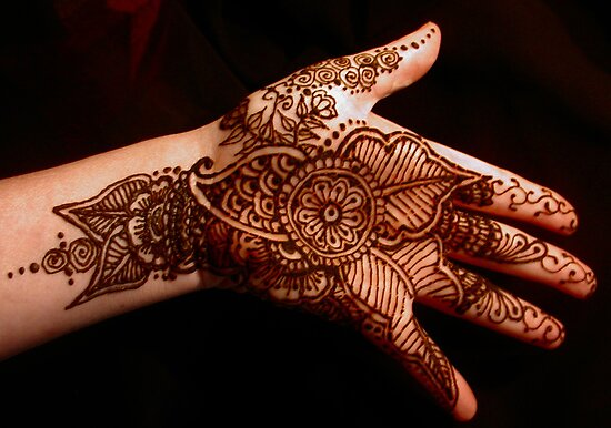 Floral Henna No2 by bajidoo