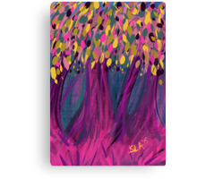 Confetti Trees Canvas Print
