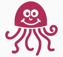Pink jellyfish by Designzz