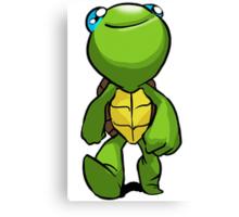 Trippy Turtle: Turtle Print Canvas Print