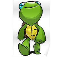 Trippy Turtle: Turtle Print Poster