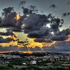 Qala sunset by M G  Pettett