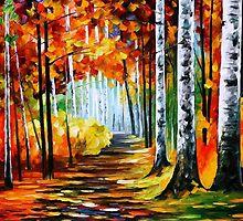 Sunny October 2 — Buy Now Link - www.etsy.com/listing/223670388 by Leonid  Afremov