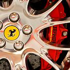 Ferrari Wheel and Brakes by TomInTacoma