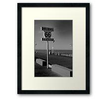 Santa Monica 66 Framed Print