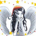 Christmas Angel by Sugarchoco