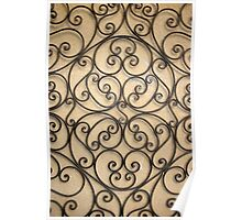 wrought iron  Poster