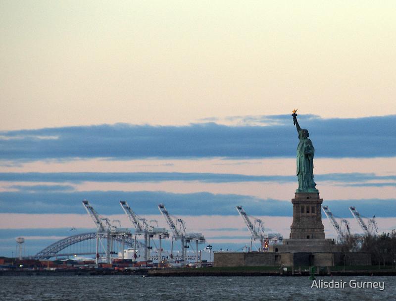 New York Salutes the Dawn by Alisdair Gurney