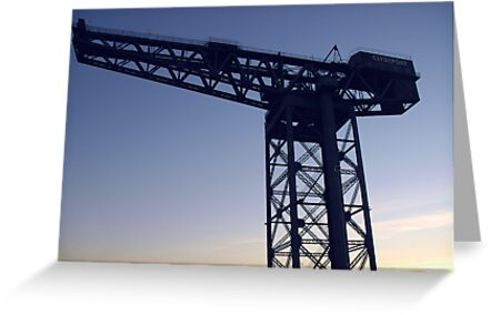 Finnieston Crane on the Clyde in Glasgow by memphisto
