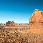La Sal Mountains Viewpoint – Arches National Park, Utah by Jason Heritage