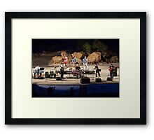 Cool Canyon Nights Framed Print