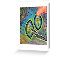 Fly into the Magic Mystic Greeting Card