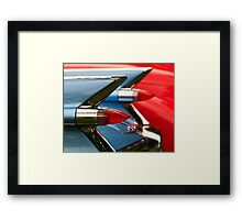 Cadillac Taillights Framed Print