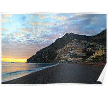 Positano, Italy by Day Poster