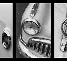 Monotone Buick Tryptych by dlhedberg