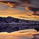 Mono Lake Sunset by David Orias