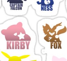 Super Smash Bros-Senior Class '99 Sticker