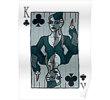 Vampire King of Clubs Poster