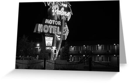 Palms Motor Hotel, Portland Oregon by Chris  Tolomei