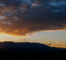 Sunset Over Salt Lake City by Christopher Carlson