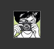 Vintage Diana Camera Woman Photographer by Framerkat