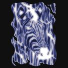 'Electric Zebra' (large logo) by Alan Hogan