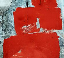 squared red by Annemie Hiele