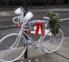 Holiday Ghost Bike by Catherine Mardix