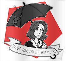 Toads Mulder!  Poster