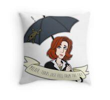 Toads Mulder! V2 Throw Pillow