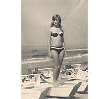 MIA SORELLA....1967..San benedetto del Tronto . Italia.EUROPA . 9000  VISUALIZZAZ 2015- VETRINA RB EXPLORE 18 OTTOBRE 2011....... . Photographic Print