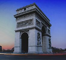 Arc de Triumph by Radar