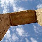 Dendera Temple Archway by desertman