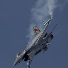 Belgian F-16 by Kevin Tappenden