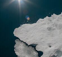 Abstract Arctic Ice by Kevin Tappenden
