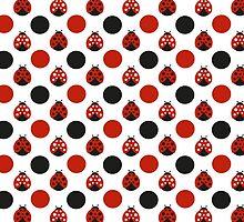 Raining Ladybugs by purplesensation