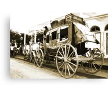 Wells Fargo Stage Coach Canvas Print