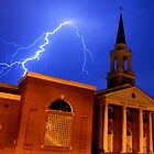 Church Street Lightning by Eric Abernethy